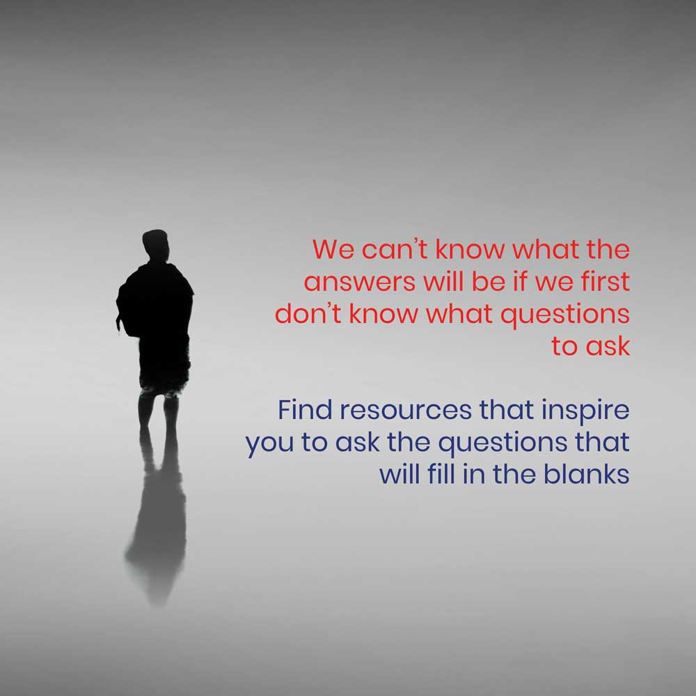 Resources - Know what questions to ask